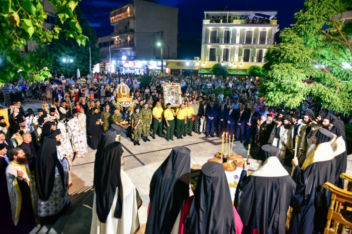 Αγία Παρασκευή: Πλήθος πιστών για την πολιούχο του Λαγκαδά