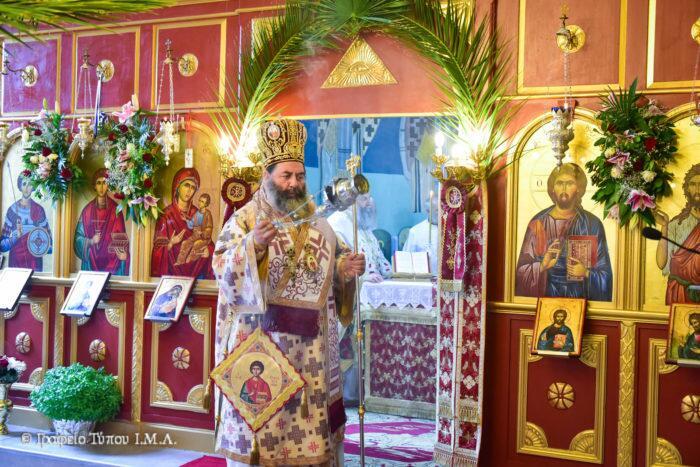 Αγιος Παντελεήμονας: Μεγαλοπρεπής Εορτή στη Μητρόπολη Λαγκαδά