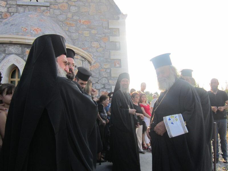 Κρήτη: Εκατοντάδες πιστοί στα θυρανοίξια του νεόδμητου Ναού Αγίων Πορφυρίου και Παϊσίου