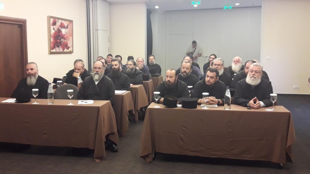 Τριάντα πέντε κληρικοί στο σεμινάριο επιμόρφωσης στα Καλάβρυτα