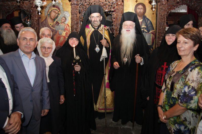 Μεγαλοσχημία Μοναχής στην Ιερά Μονή Παναγίας Μακελλαριάς