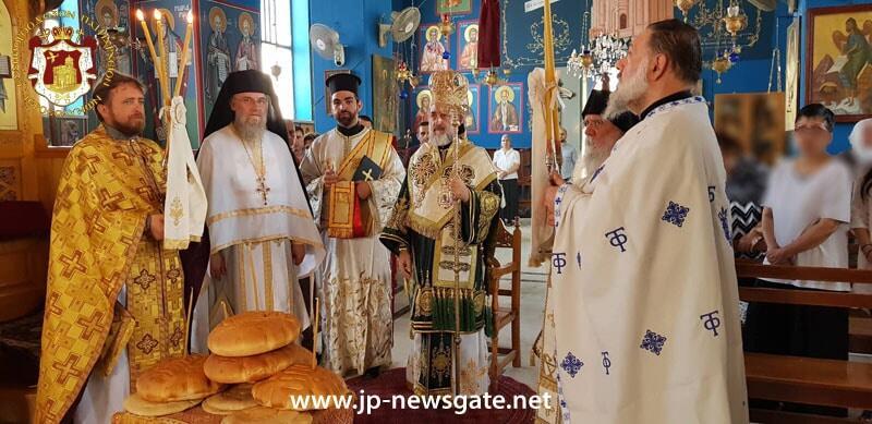Λαμπρή Εορτή του Προφήτη Ελισσαίου στο Πατριαρχείο Ιεροσολύμων