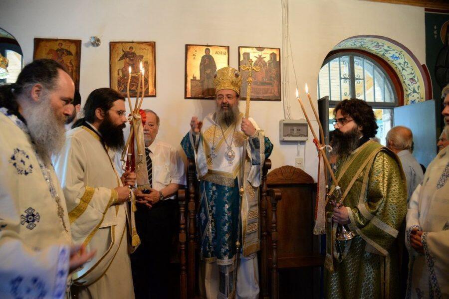 Eορτή της Αγίας Παρασκευής στην Ι.Μ. Πατρών