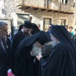 Λείψανα του Αγ. Γρηγορίου Ε' από το Άγιο Όρος στη Δημητσάνα
