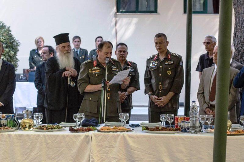 Τον προστάτη των Διαβιβάσεων Αγιο Παΐσιο τίμησε ο Ελληνικός Στρατός