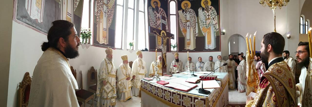 Πατέρες από το Άγιο Όρος στην Ι.Μ. Αρκαλοχωρίου Κρήτης