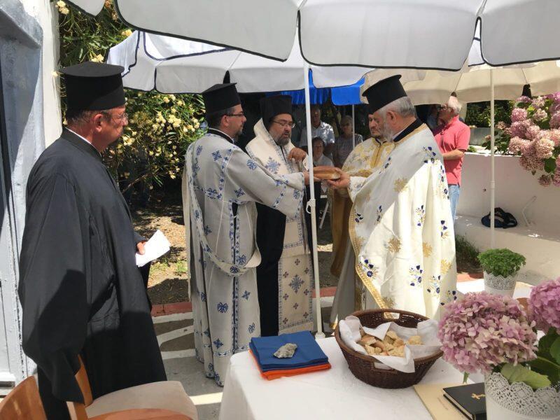 Λαμπρή Εορτή της Αγίας Κυριακής στα Θεραπειά του Βοσπόρου