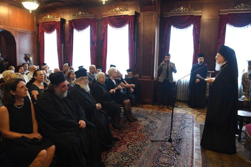 Βαρθολομαίος: Η Μητέρα Εκκλησία επιθυμεί την ενότητα στην Ουκρανία