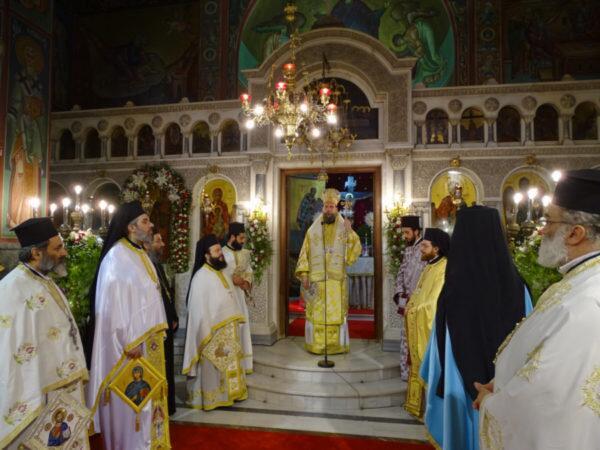 Εορτή του θαύματος της Αγίας Ευφημίας στη Νέα Χαλκηδόνα