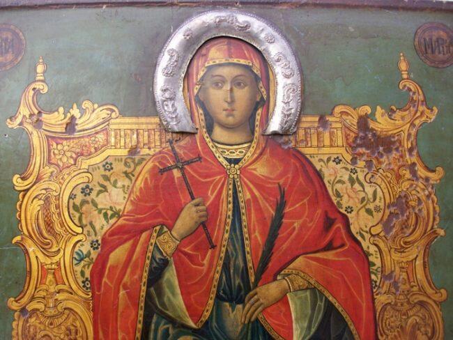 Αγία Μαρίνα: Η προσευχή της πριν την αποκεφαλίσουν