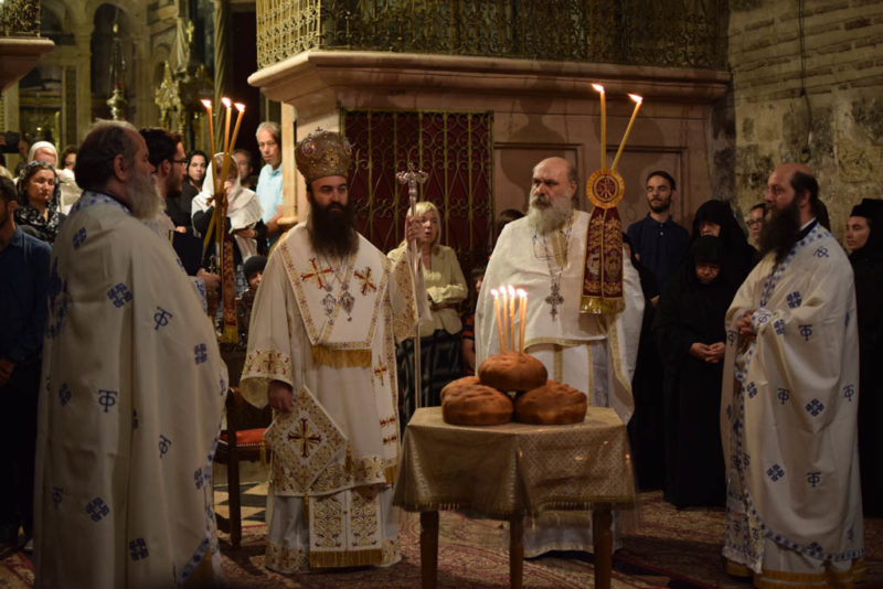 ΙΕΡΟΣΟΛΥΜΑ: Προσκύνημα από το ίδρυμα νεότητας της Αρχιεπισκοπής στους Άγιους Τόπους