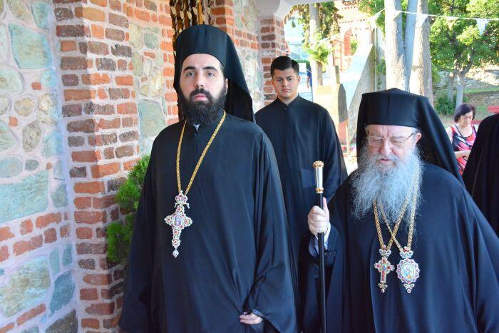 Ο Μητροπολίτης Θεσσαλονίκης Ανθιμος στον Προφήτη Ηλία Πυλαίας