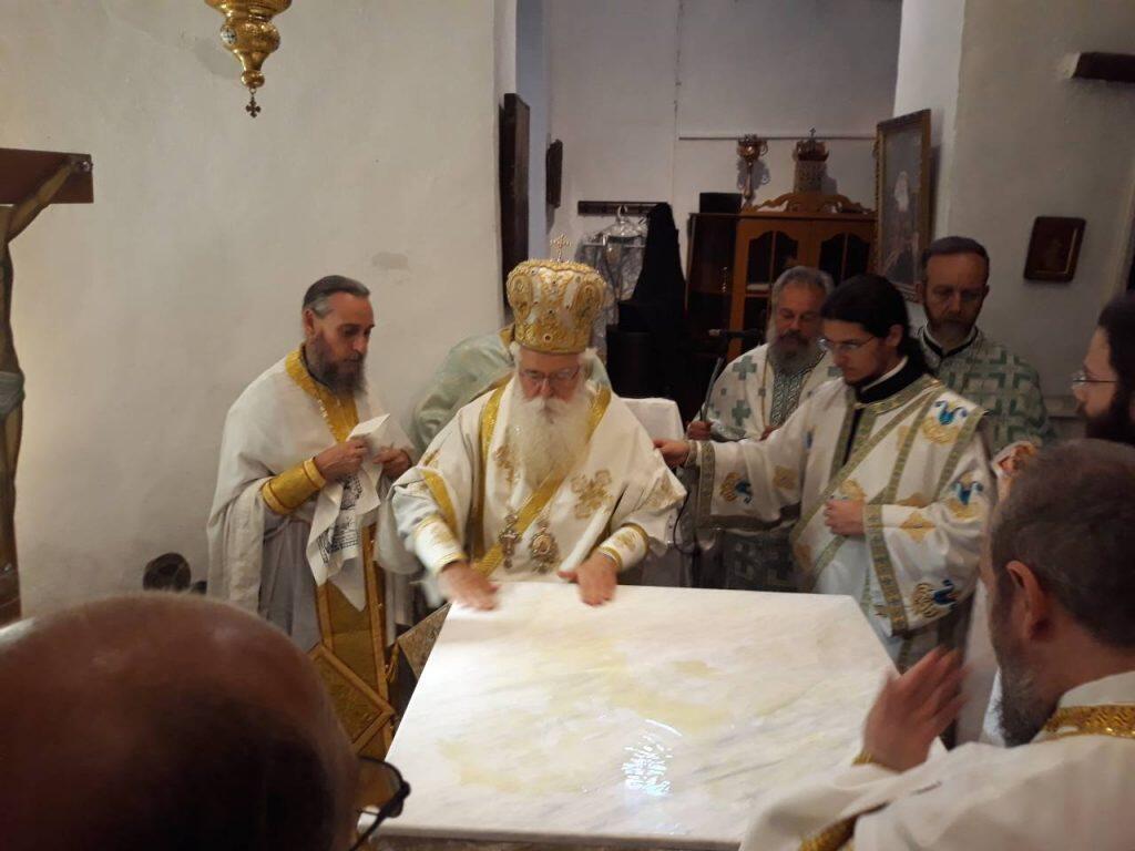 Επαναλειτούργησε η Ιερά Μονή Τιμίου Προδρόμου Βυζίτσης