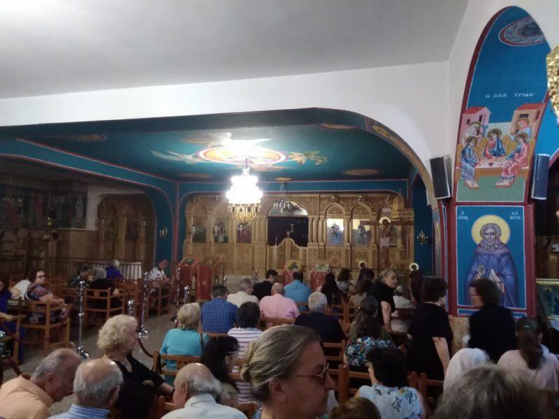 Μνημόσυνο του Αρχιμανδρίτη Σάββα Αχιλλέως