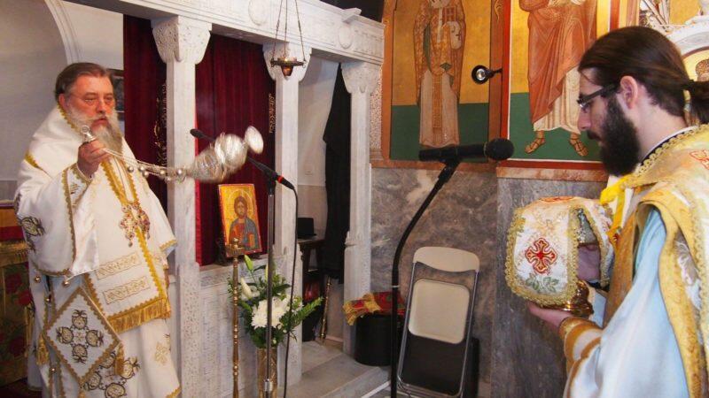 Προφήτης Ηλίας - Κηφισιά: Πλήθος πιστών στην Πανηγυρική Θεία Λειτουργία