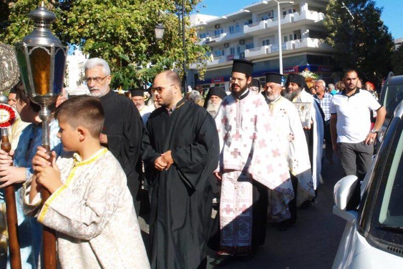 Χανιά: Πλήθος κόσμου στην υποδοχή πιστού αντιγράφου της Παναγίας του Κύκκου
