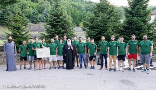 Ξεκίνησε η φιλοξενία παιδιών στις εγκαταστάσεις της Ιεράς Μονής Παναγίας Δοβρά