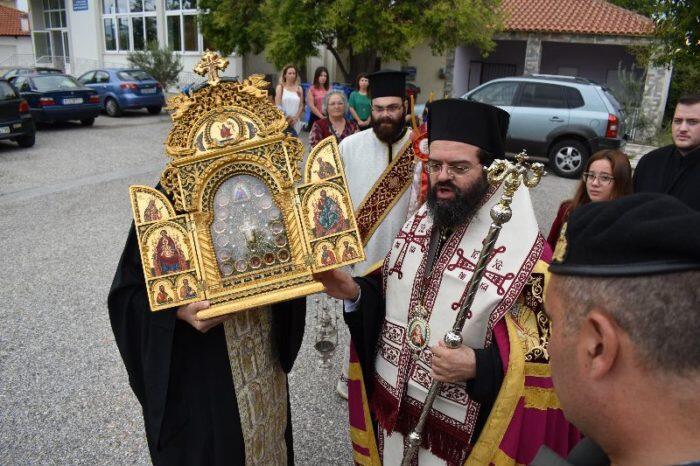 Υποδοχή Ιερών Λειψάνων των Αγίων Αποστόλων στη Μητρόπολη Μαρωνείας