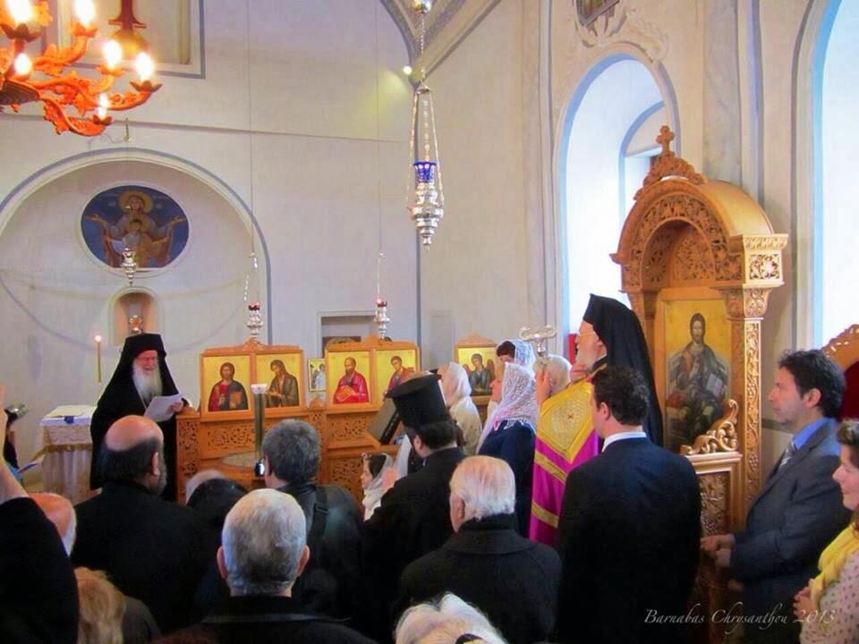 Στην Αττάλεια βρίσκεται ο Οικουμενικός Πατριάρχης - εγκαίνια Επισκοπείου