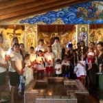 25 παιδιά Ρομά βάπτισε ο Μητροπολίτης Δημητριάδος Ιγνάτιος