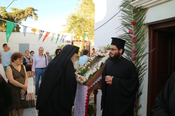 Πάρος: Πανηγύρισε η Ιερά Μονή Αγίων Αναργύρων Παροικιάς