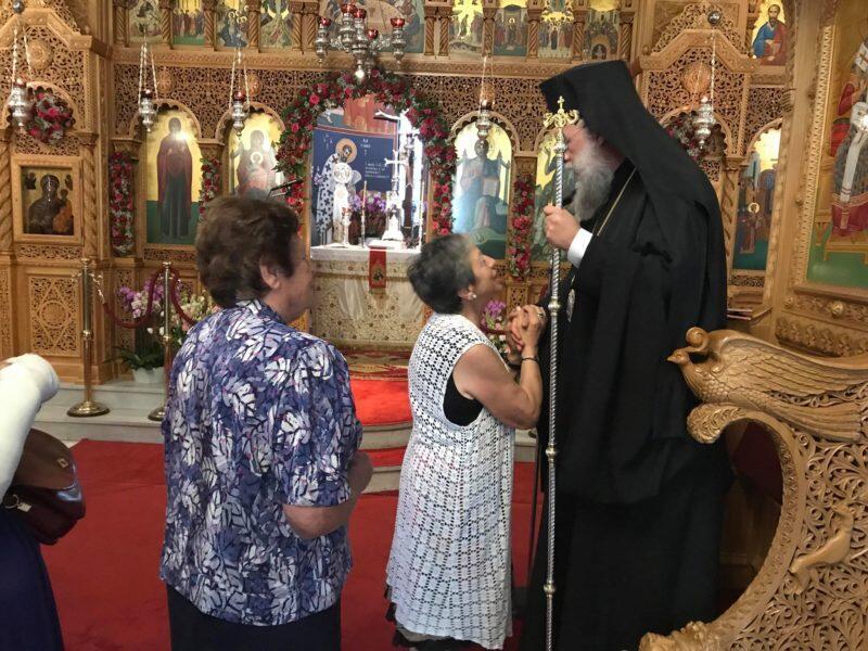 Αγία Μαρίνα - Εκάλη Τώρα: Κοσμοπλημμύρα στην Πανηγυρική Αρχιερατική Θεία Λειτουργία