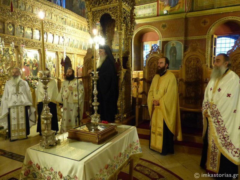 Καστοριά: Σε κλίμα κατάνυξης η Αγρυπνία για τον Άγιο Παΐσιο τον Αγιορείτη