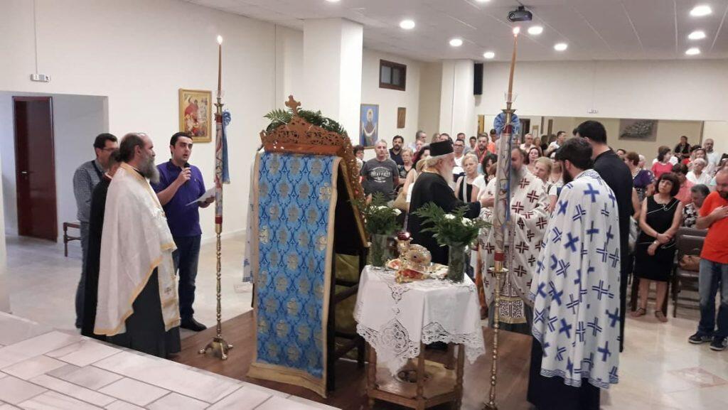 Λαμπρή Εορτή του Αγίου Παϊσίου στην Μεταμόρφωση Αττικής