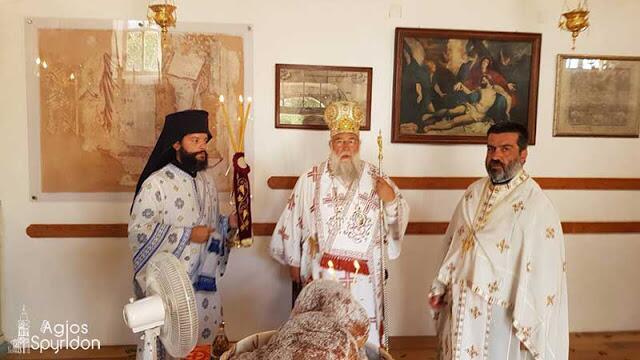 """Κερκύρας Νεκτάριος : """"Ο Θεός είναι αγάπη και Πατέρας και όχι τιμωρός !"""""""