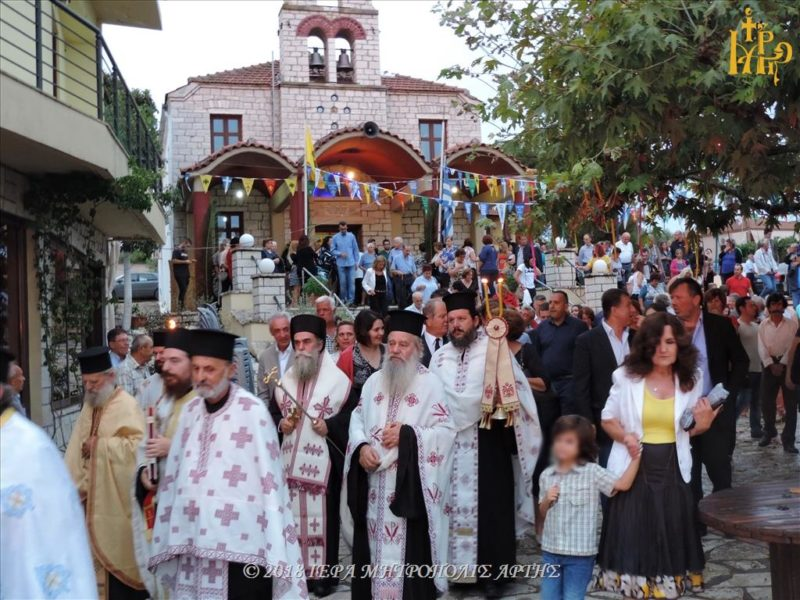 Αγιος Παντελεήμονας: Κοσμοπλημμύρα στην Ενορία Αγίου Παντελεήμονος Περάνθης Άρτης