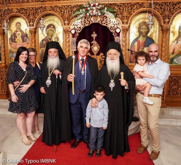 Αγιος Παντελεήμονας: Ο εσπερινός της εορτής στην Ιερά Μονή Παναγίας Δοβρά Βεροίας