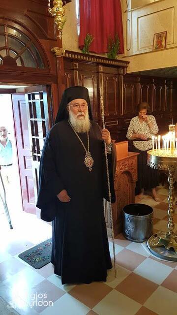 Κερκύρας: Παρακαλούμε τον Άγιο Παντελεήμονα να δώσει ίαση και κουράγιο στους δοκιμαζόμενους αδελφούς μας στην Αττική