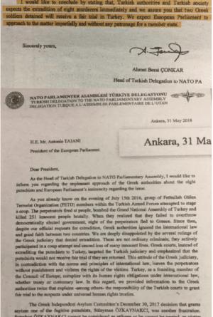 Έλληνες στρατιωτικοί: Απίστευτη πρόκληση από Τουρκία - Ζητά επίσημα την έκδοση των 8