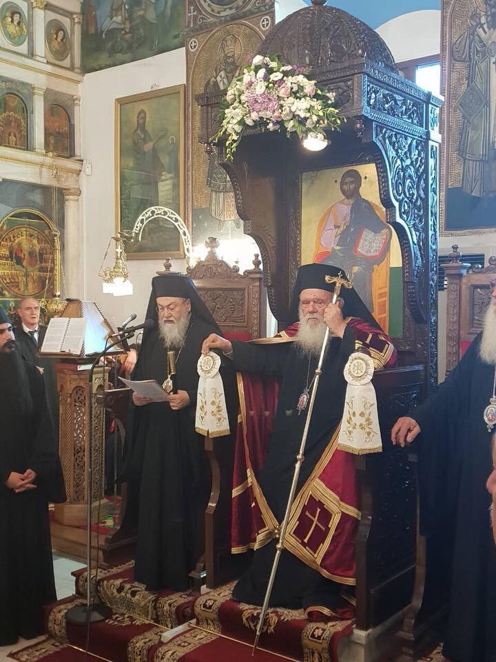 Αγία Κυριακή - Δημητσάνα: Αρχιεπίσκοπος και πλήθος πιστών στον Πανηγυρικό Εσπερινό