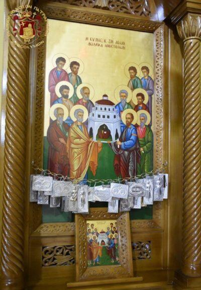 Η Σύναξις των 12 Αποστόλων στο Πατριαρχείο Ιεροσολύμων