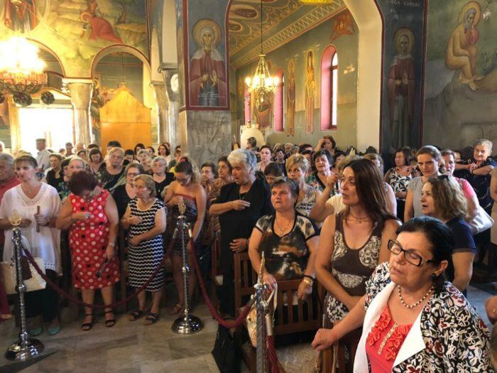 Πύργος: Λαμπρή Εορτή της Αγίας Μαρίνας στο Καταράχι