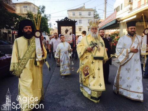 Η εορτή της Υ.Θ. Βλαχέρενας στην Ι.Μ. Κερκύρας