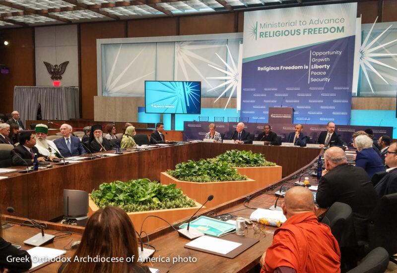 ΗΠΑ - ΕΙΔΗΣΕΙΣ: Παρέμβαση του Αρχιεπισκόπου Δημητρίου υπέρ του Οικουμενικού Πατριαρχείου