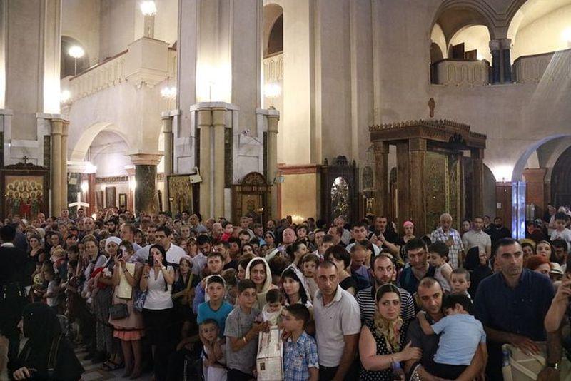 Νονός 36.000 παιδιών έγινε ο Πατριάρχης Γεωργίας Ηλίας