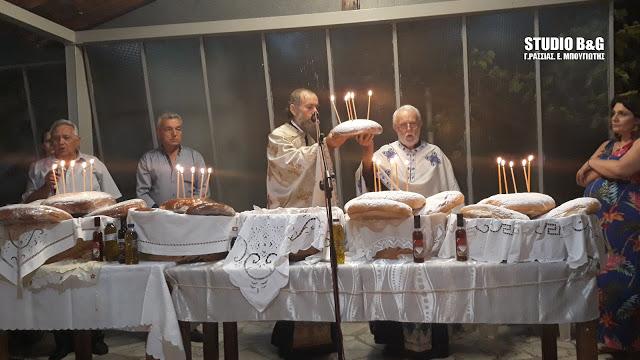 Στο Τημένιο γιόρτασαν την Κοίμηση της Αγίας Άννης