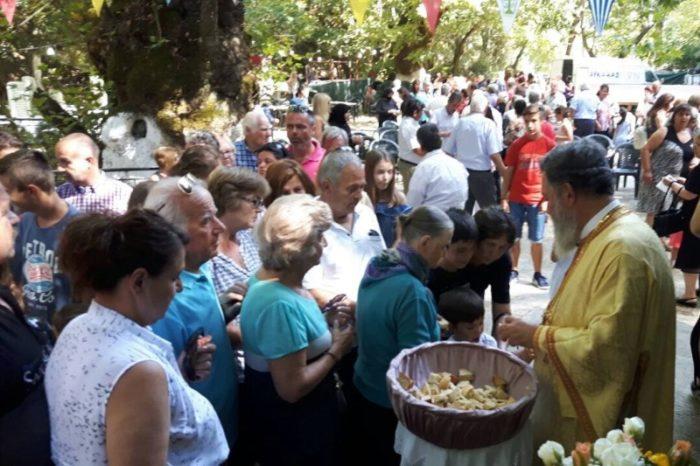 Με λαμπρότητα τιμήθηκε η Αγία Μαρίνα στη Μητρόπολη Χαλκίδος