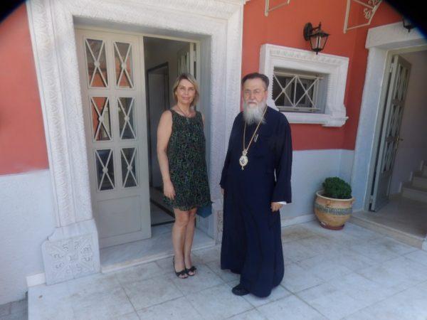 Στον Κορίνθου Διονύσιο η βουλευτής Κατερίνα Παπακώστα