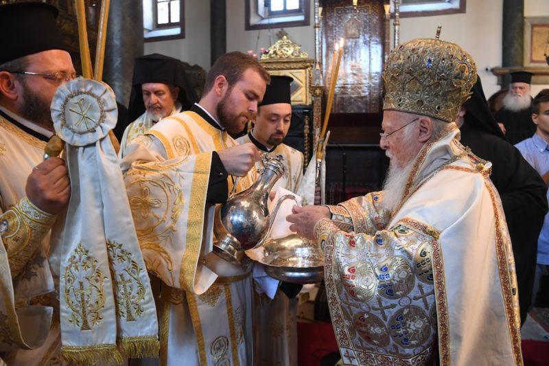 Οικουμενικό Πατριαρχείο: Χειροτονία Διακόνου Ιωάννη Χασάπη