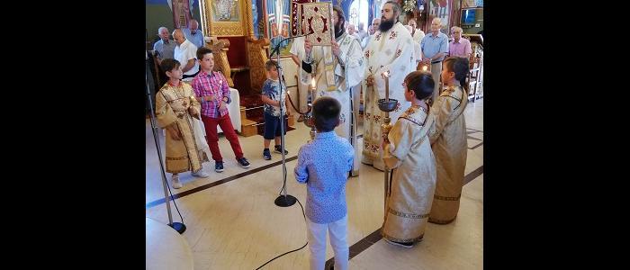 Η Γλύφα εόρτασε τους Προστάτες της Αγίους Αναργύρους