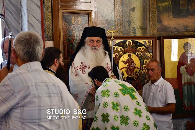 Αγία Κυριακή: Αρχιερατική Θεία Λειτουργία στη Λάλουκα Αργολίδος