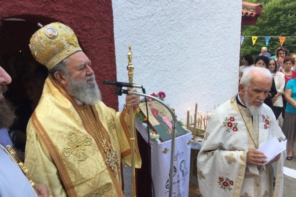 Τιμήθηκε η μνήμη των Αγίων Μαρτύρων Κηρύκου και Ιουλίττας στη Στενή Ευβοίας