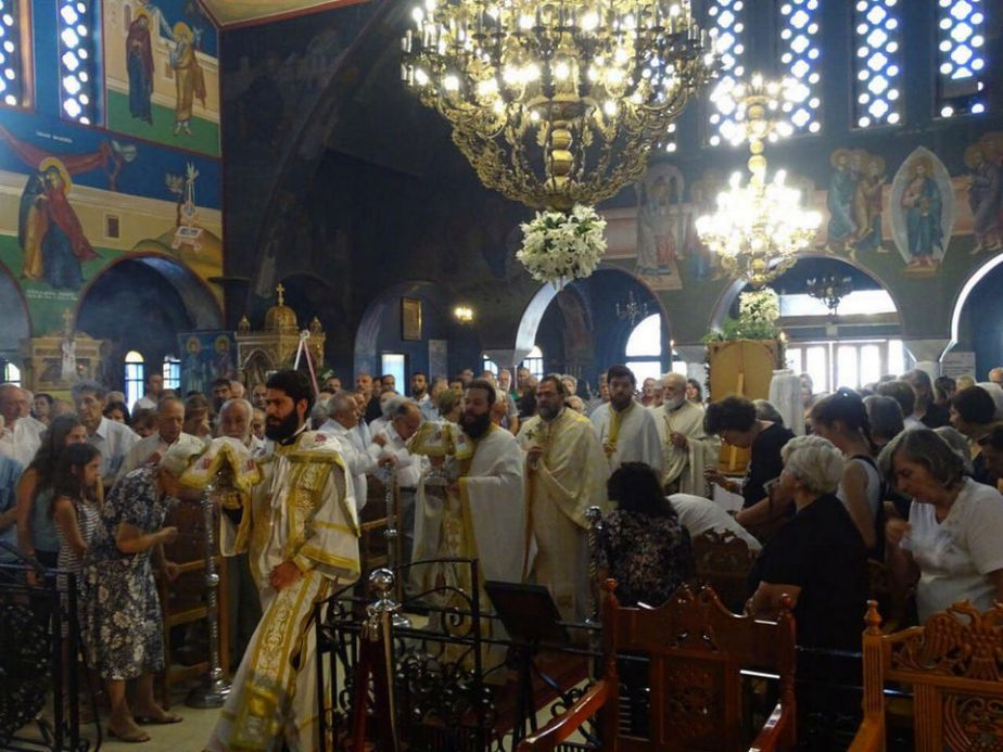 Η εορτή της Αγ. Μαρίνας στην Ι.Μ. Νέας Ιωνίας και Φιλαδελφείας