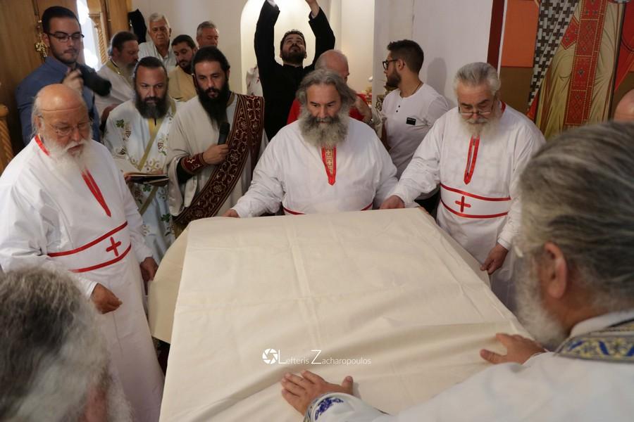 Λαμπρά εγκαίνια του Ιερού Ναού Κοιμήσεως Θεοτόκου Τσεμπερούς