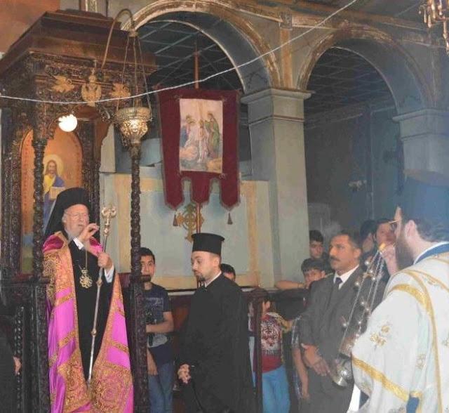 Ο Οικουμενικός Πατριάρχης στην Παιδόπολη της Πρώτης το Σάββατο 21 Ιουλίου