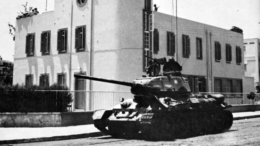 15 Ιουλίου: 44 χρόνια από το πραξικόπημα του 1974